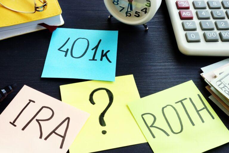 401k Vs Ira Question