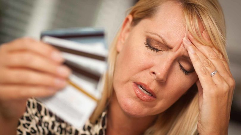 Credit Card Debt Collections Stress
