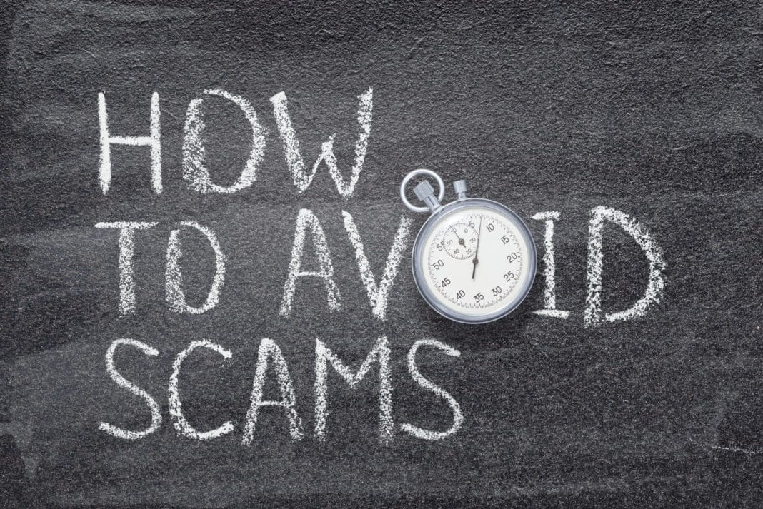 Principles Avoiding Scams
