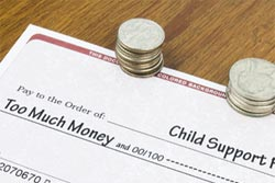 child support check