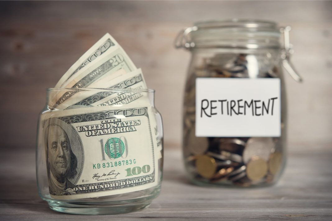 Retirement Jar Cash Savings Investment Funds