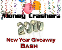 Post image for Last week to try to win $9100+ in prizes @ MoneyCrashers.com!