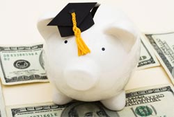 529 college savings piggy bank