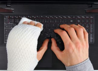 Hand Injury Typing Keyboard