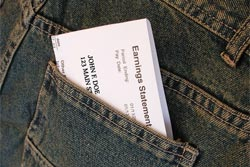 paycheck jeans pocket