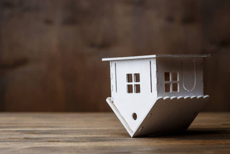 Upside Down House Mortgage
