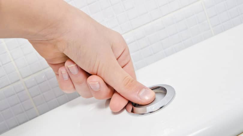 Flushing Toilet Less Frequently
