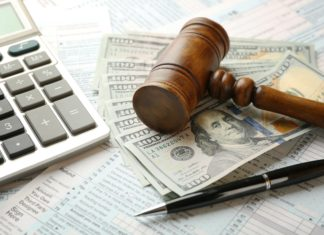 Tax Attorney Gavel Cash Calculator Tax Irs Form