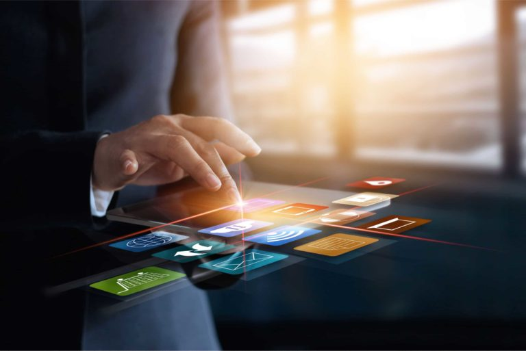 Virtual Screen Online Banking Shopping Omni Channel