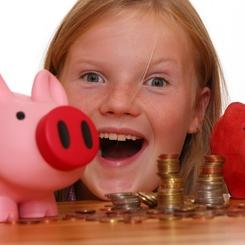 Teach Kids about Saving with Piggy Banks