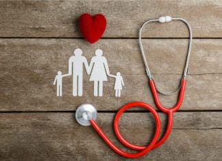 Health Insurance Heart Family