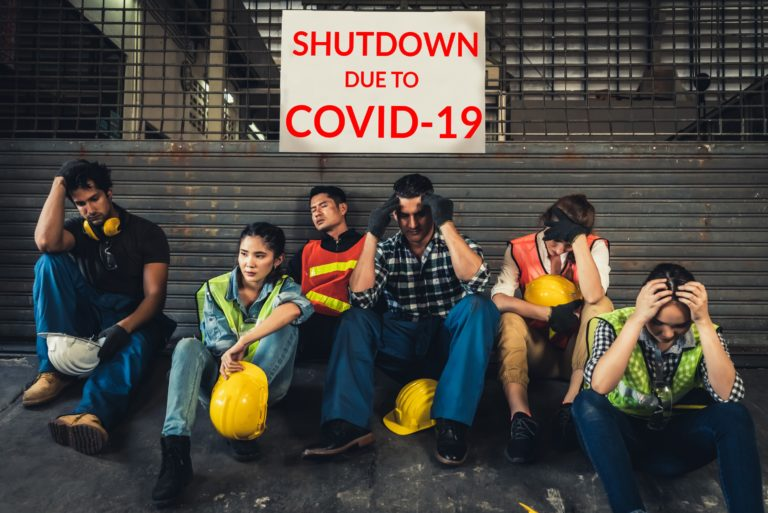Unemployed Workers Due To Covid 19