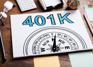 401k Compass Sketch Desk