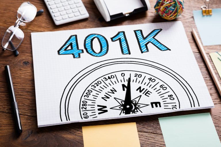 401k Compass Sketch Desk