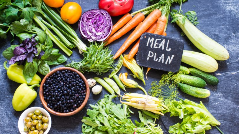 Meal Plan Vegetables Fresh Produce