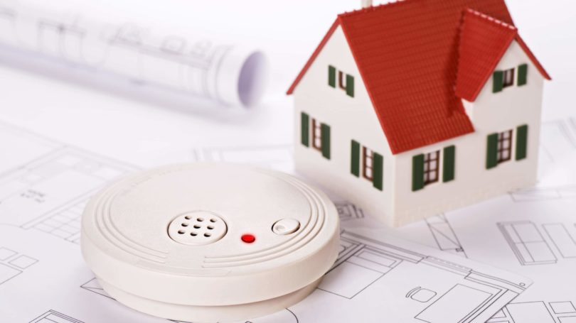 Smoke Detector Blueprint House