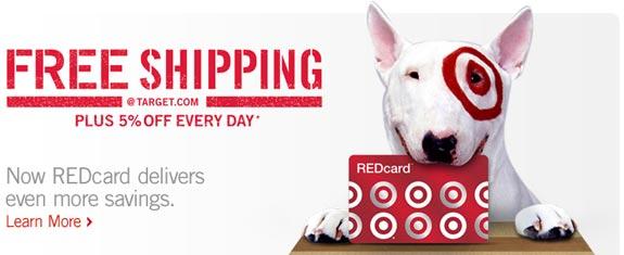 target redcard dog