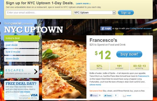 living social nyc uptown deal