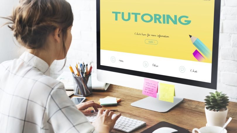 Online Tutoring Computer Remote Teaching Student