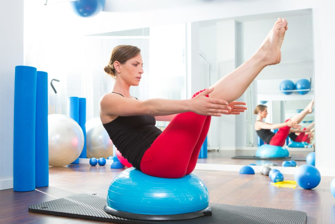 Bosu Ball Exercises Core Balance