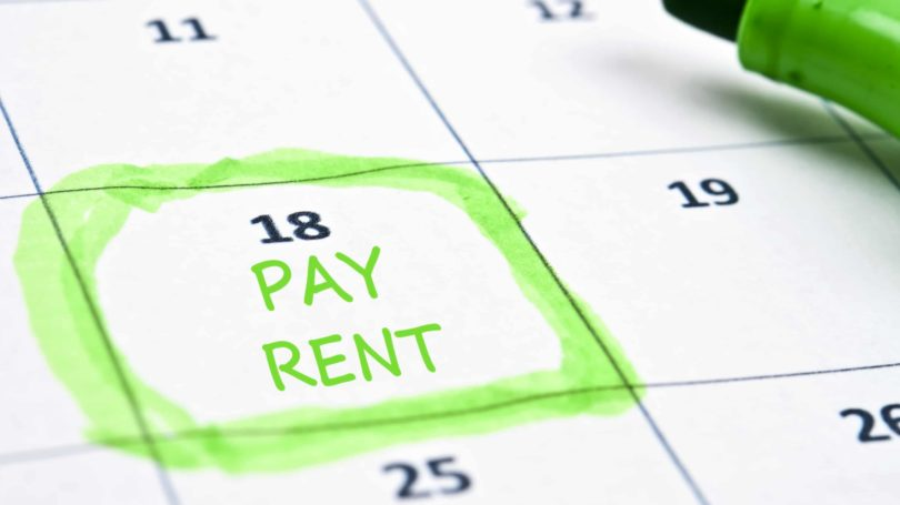 Calender Reminder Schedule Pay Rent Highlighter