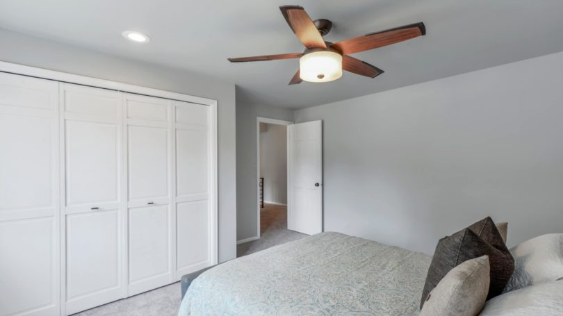 Ceiling Fan Bedroom Bed Closet