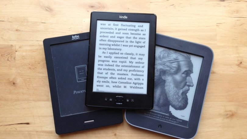 Ebook Readers Kindle Nook Kobo