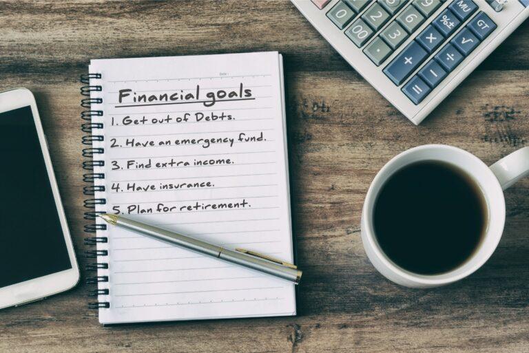 Financial Goals Priorities Notebook