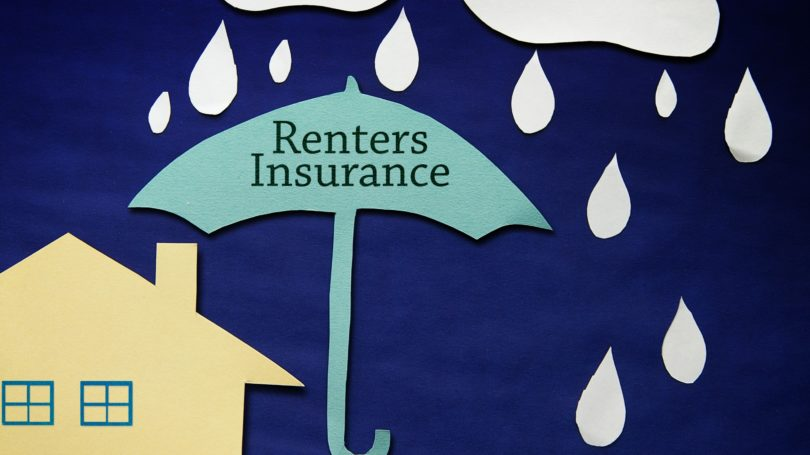 Renters Insurance Umbrella House Raining