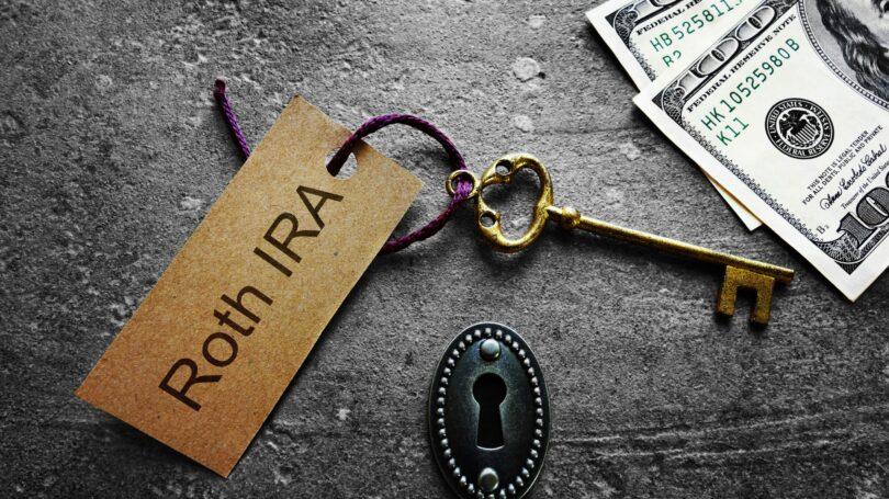 Roth Ira Key Keyhole Cash