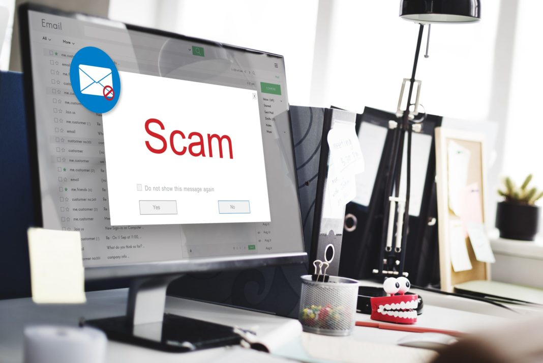 Scam Computer Email Delete Trash Home Office