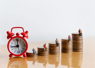 Alarm Clock Timing Saving For Retirement Stage