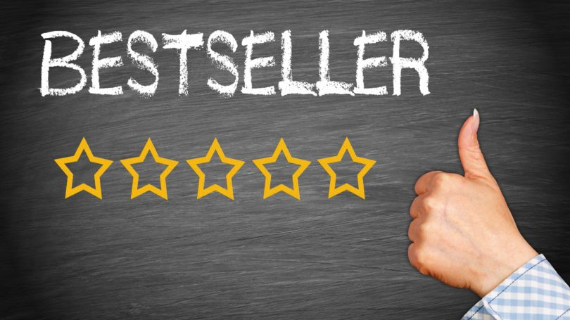 Best Seller Rating Five Stars Thumbs Up