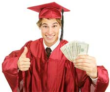 college graduate money