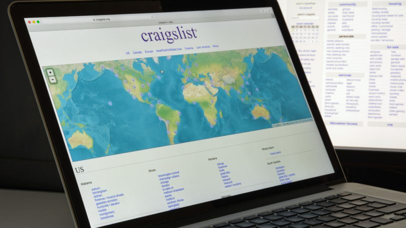 Craigslist Website Sales Internet Online
