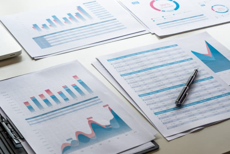 Data Tables Graphs Laid Out
