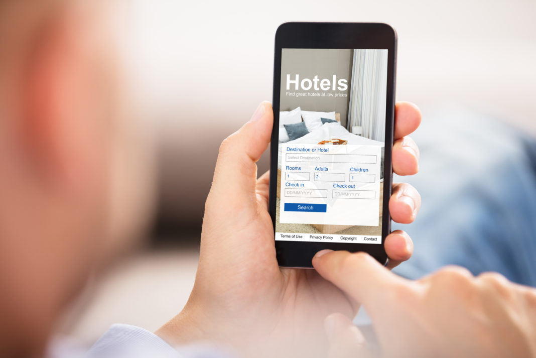 Hotel Search Mobile Phone