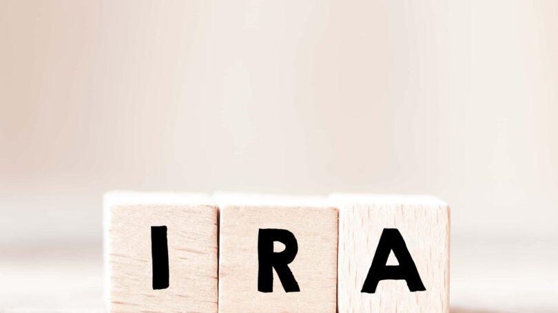 Ira Block Letters Savings Account