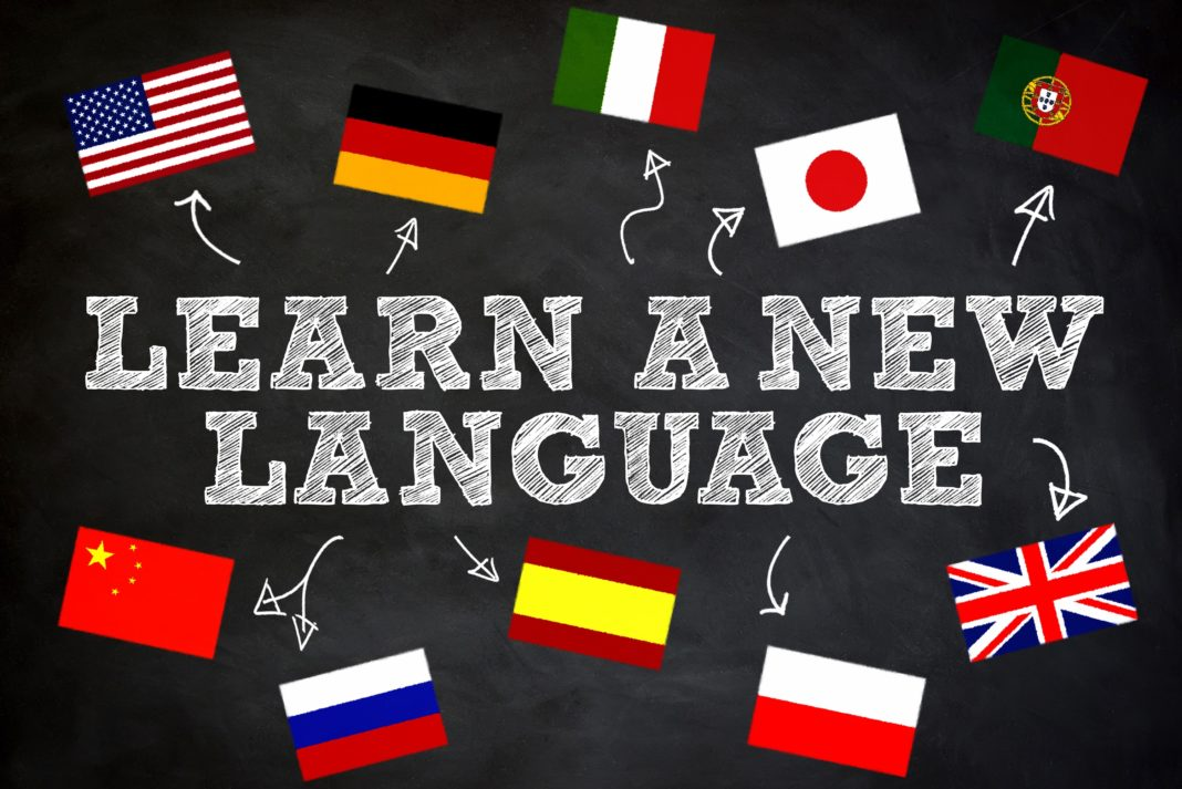 Learn A New Language Flags