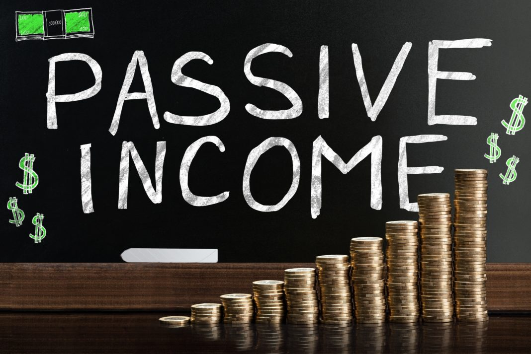 Passive Income Money Cash Climbing