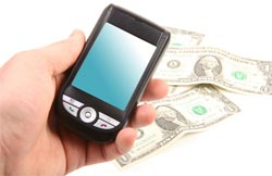 smartphone money