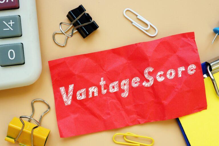 Vantage Score Note
