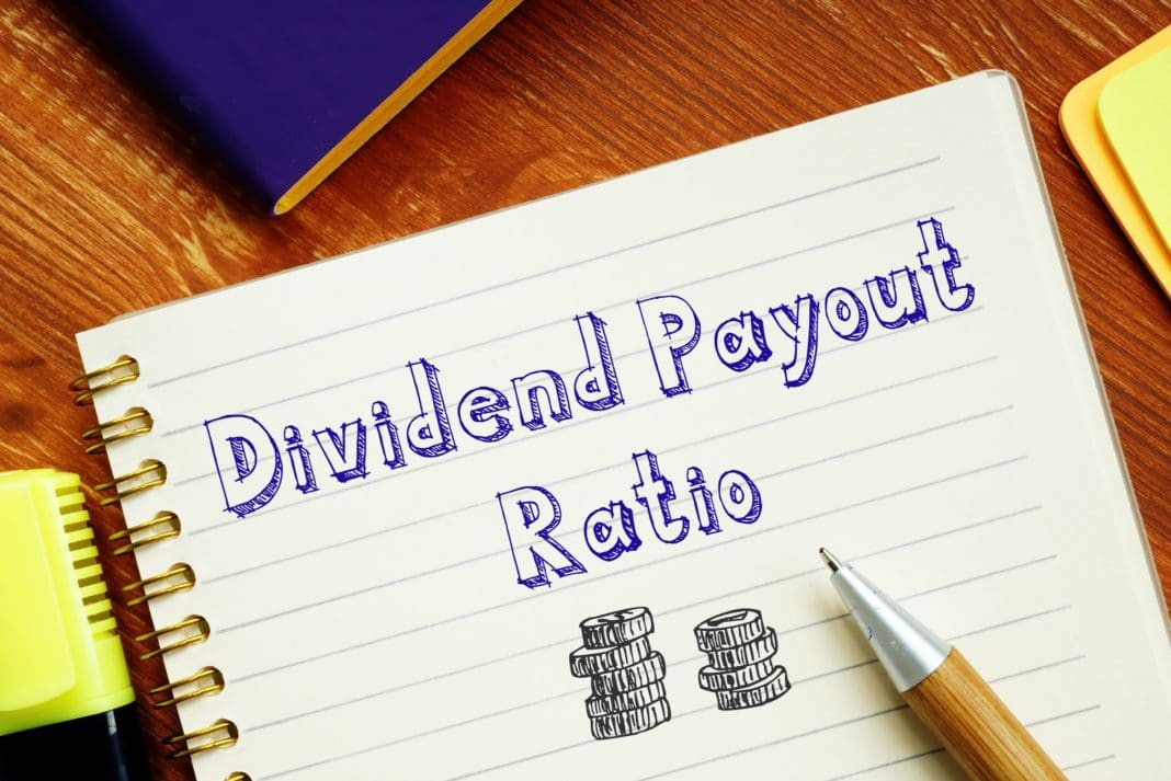 Divident Payout Ratio Coins Sketch