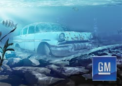 gm bankrupt underwater