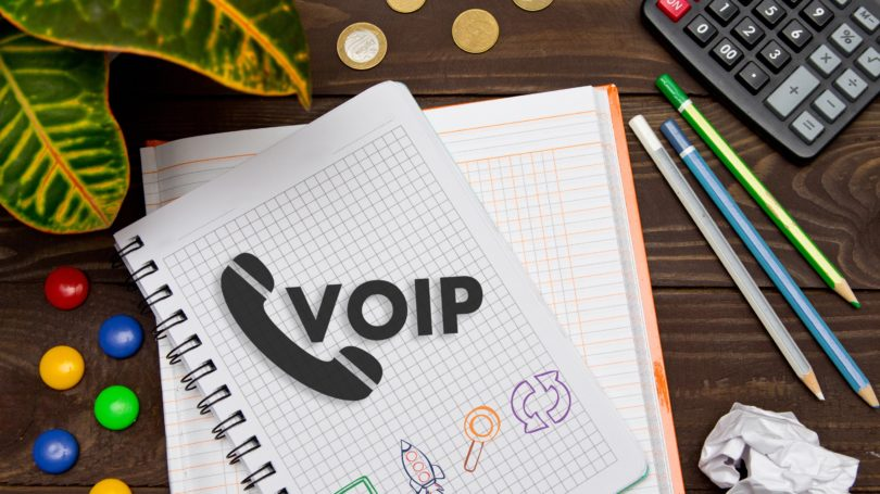 Voip Office Telecommunications Conference Call Notebook
