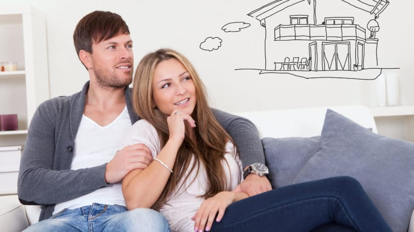 Couple Consider Buying House