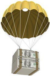golden parachute money