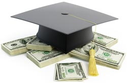 graduation student money