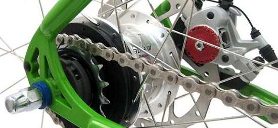 internally geared hub bike