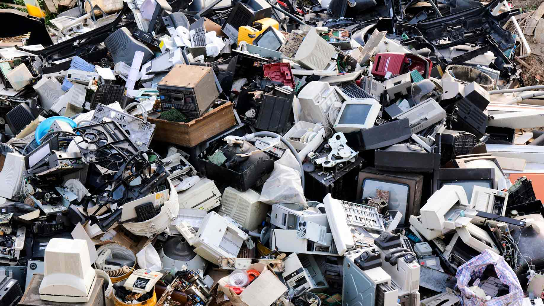 Electronic Waste E Recycling Disposal Facts Statistics It Scrap Hard Drive Circuit Board Ready